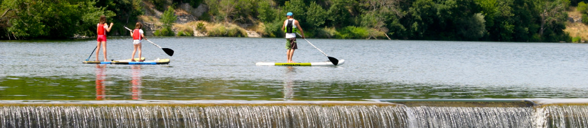 Stand Up Paddle en Ardèche